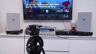 JBL Control 28 - Audio Test, Sound Demo #1