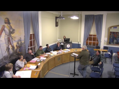 City of Plattsburgh, NY Meeting  11-27-17