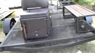 New trailer smoker