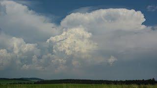 Bouřky 10. června 2018 / Thunderstorms June 10th 2018