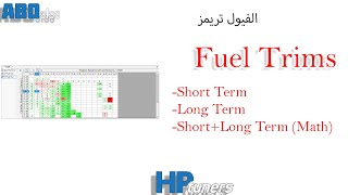Hp Tuners - Fuel Trims Part 1 تعليم برمجة السيا…