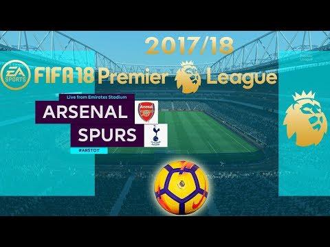FIFA 18 Arsenal vs Tottenham | PLKickOff