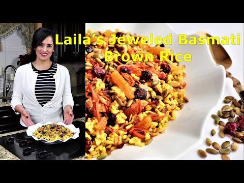 laila's-jeweled-basmati-brown-rice!