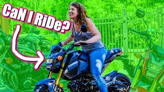 homepage tile video photo for She let me ride...
