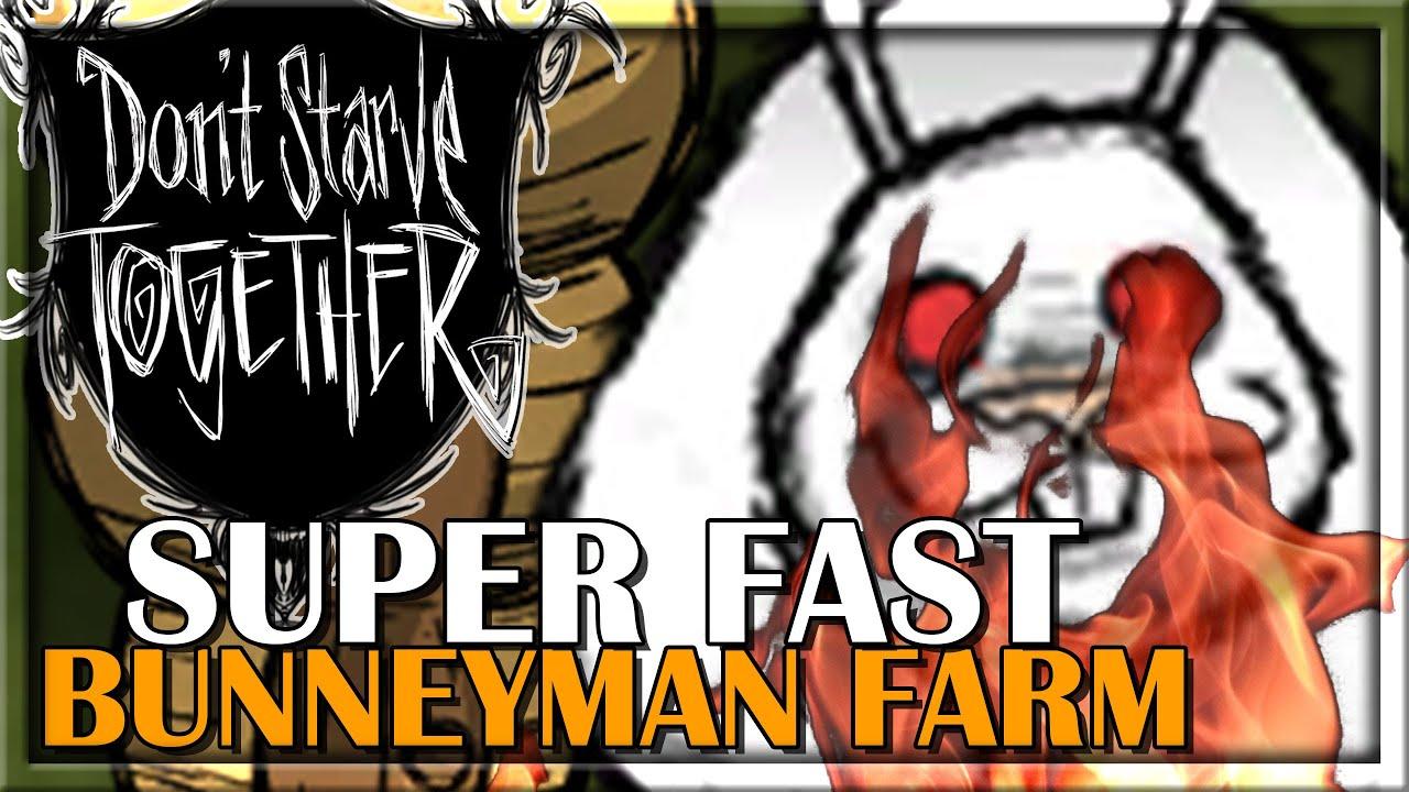 Download SUPER FAST BUNNYMEN FARM   Don't Starve Together Guides