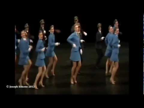"""Jet Set"" flight attendants and pilots - Joseph Simons"