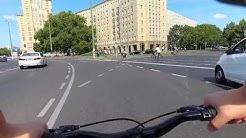 Berlin Bike Ride - Lichtenberg to Alexanderplatz