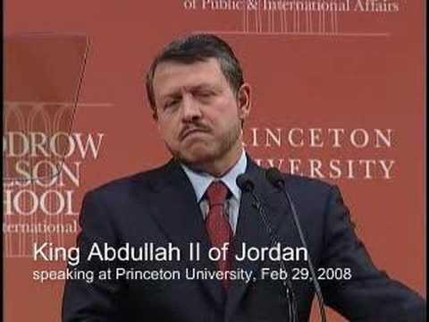 King Abdullah II of Jordan - a policy address