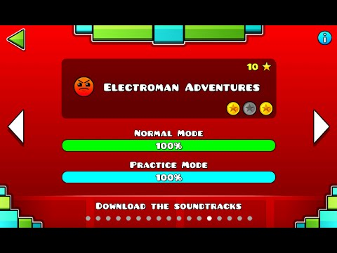 Geometry Dash - Electroman Adventures 100% Complete