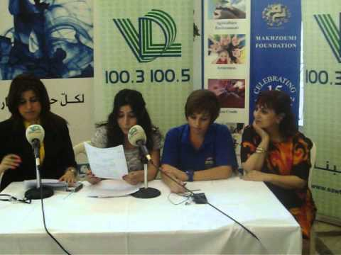 Media Conference @ Voice of Lebanon Achrafieh