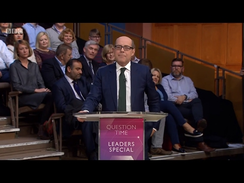 Question Time Leaders Special with Tim Farron and Nicola Sturgeon