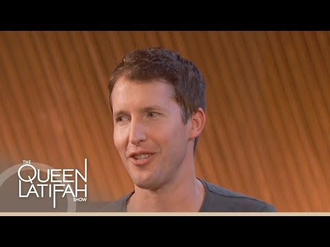 James Blunt Talks Recording In Odd Places On The Queen Latifah Show