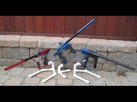 how to build a paintball gun stand 2