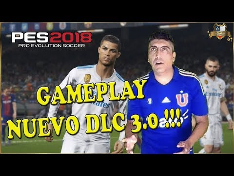 PES2018 DLC 3.0 | BARCELONA vs REAL MADRID