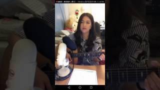 Thailand girl sing in Bigo live cute song