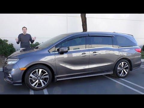 Вот обзор минивэна Honda Odyssey за $50 000