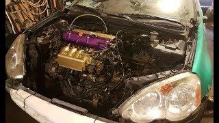 K20a2 rsx turbo kit video clip