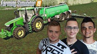 """Rozlewanie gnojowicy na łąki, karmienie swiń!✔ FS 19 """"od Zera do Farmera""""#119 MafiaSolecTeam"""