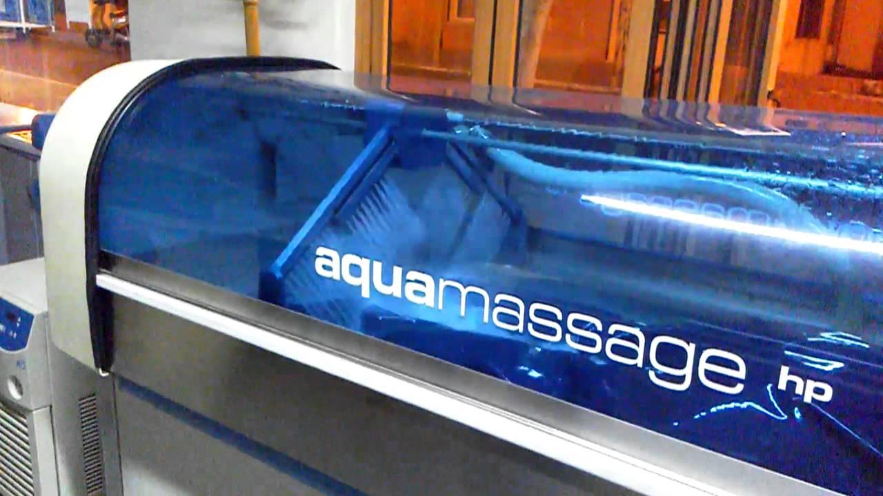 Faliraki - Aqua massage - YouTube