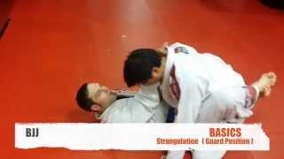BJJ- BASICS- Strangulation- Guard Position