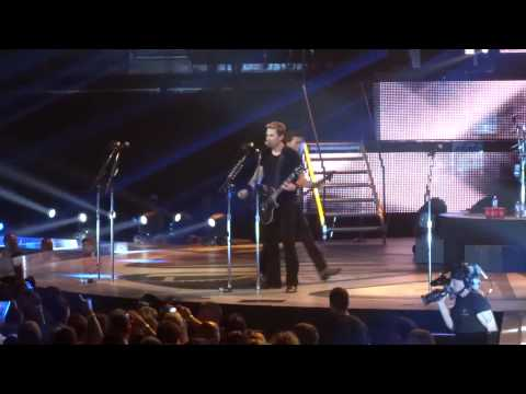Nickelback - Figured You Out  LIVE Dallas Texas 6-1-2012