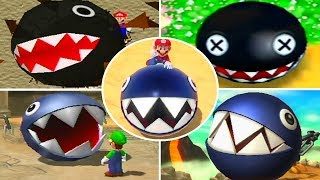 Evolution of Chain Chomp Minigames in Mario Party Games (1998-2018)