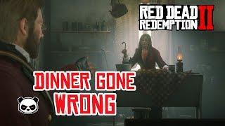 Red Dead Redemption 2 Dinner Gone Wrong I Got Trolled