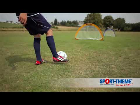 "Video: Pugg ""Pop Up"" Pair of Football Training Goals"