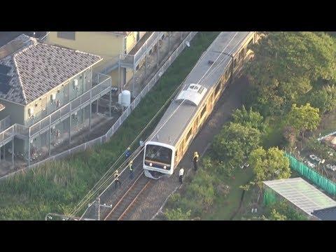 JR外房線で先頭車両脱線 乗客1人負傷、千葉