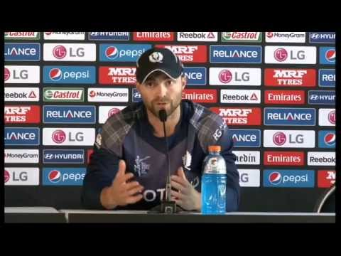 Live Post Match Press Conference New Zealand v Scotland - Dunedin