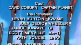 Captain Planet and The Planeteers End Credits Saban Brands