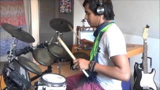 Ye Kali Kali Aankhen - Baazigar - Drum cover (Manas Bhatnagar)