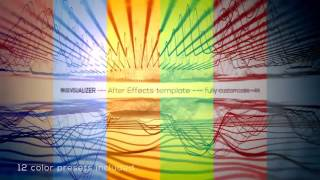 Audio React Tunnel Music Visualizer After Effects Template Hive