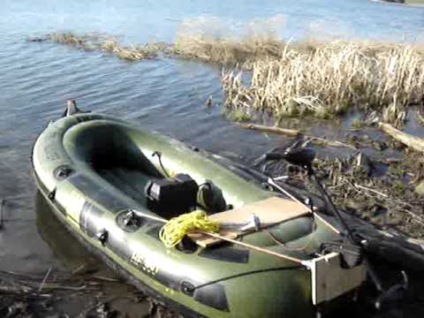 Fish Hunter 360 W Hm Motor Mount 30lb Motor Youtube