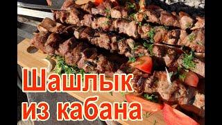 Шашлык из кабанятины (шашлык из кабана), рецепт как приготовить шашлык из мяса дикого кабана