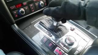 Audi Q7 V12 запуск при -27С. Прогрев АКПП