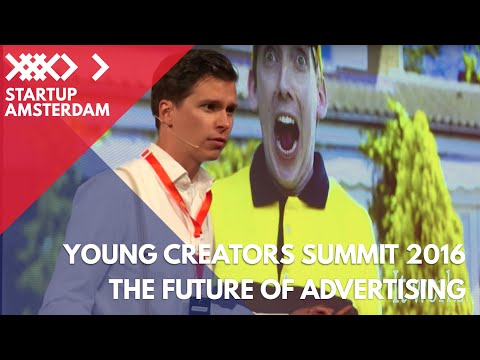 Future of Advertising. Less Ads, More Acts - Polle de Maagt - Young Creators Summit 2016