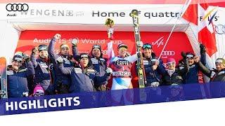 Muffat Jeandet, Feuz, Hirscher take top honours in Wengen | Photo recap
