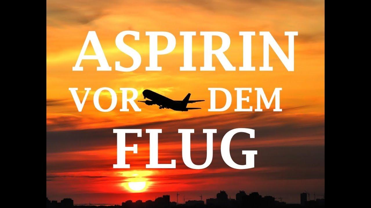 Aspirin Vor Flug