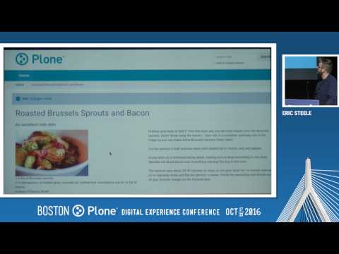 Day 1: Keynote: Plone Futures, by Eric Steele