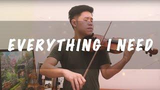 Aquaman Soundtrack - Everything I Need (Violin Instrumental by Alan Ng)