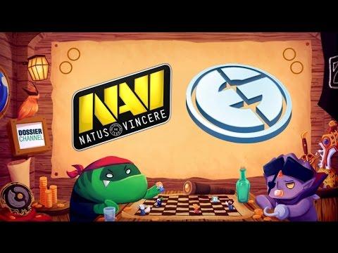 [ Dota2 ] Game 1 - Navi vs EG (BO3) - SL i-League StarSeries Season 2 LAN Finals - Thai Caster