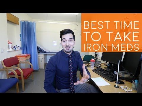 Iron Tablets | How To Take Iron Tablets | How To Reduce Iron Supplement Side Effects (2018)