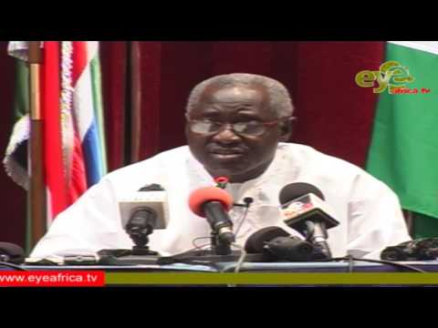 Press Conference of President of The Spokesperson The Republic of The Gambia