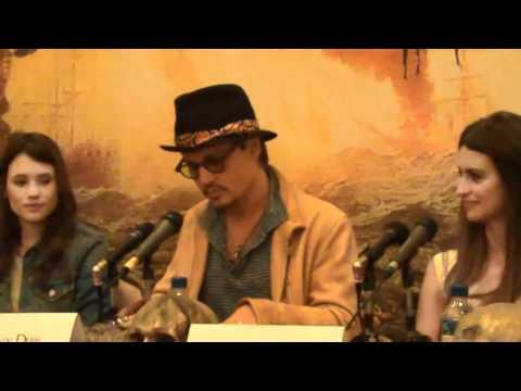 Johnny Depp reveals where Pirates 5, 6 will be filmed