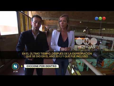 Ciccone por dentro - Telefe Noticias