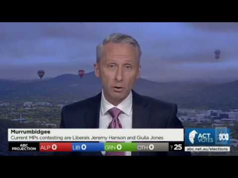ACT Election 2016 (ABC News) Part 1