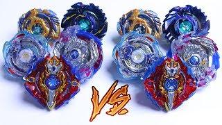 THE BIG FIVE vs THE BIG FIVE   Hasbro vs Takara Tomy - Beyblade Burst Evolution God