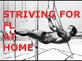How to train for Front lever? | Front lever home routine