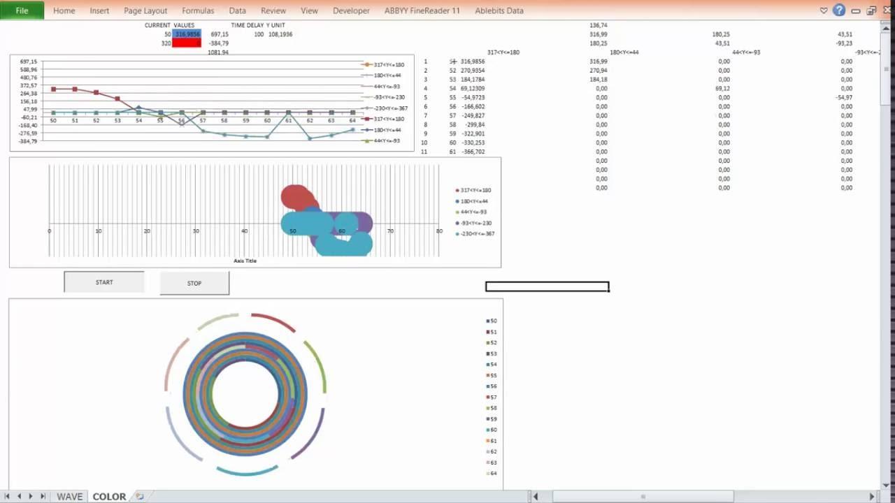 Excel vba animated charts graphs development phase youtube excel vba animated charts graphs development phase ccuart Choice Image